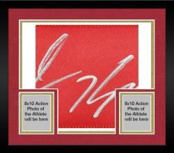 Framed Colin Kaepernick San Francisco 49ers Autographed Nike White Limited Jersey