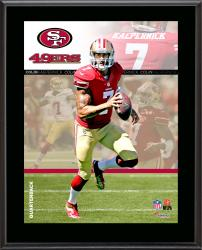 "Colin Kaepernick San Francisco 49ers Sublimated 10.5"" x 13"" Composite Plaque"