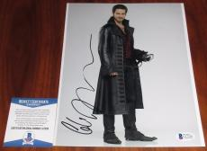 Colin O'Donoghue Signed 8x10 Once Upon a Time Hook BAS Beckett