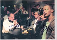 "COLLATERAL"" Signed by TOM CRUISE as VINCENT and JAMIE FOX as MAY - 10x8 Color Photo"