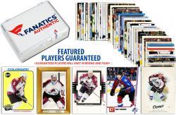 Colorado Avalanche Team Trading Card Block/50 Card Lot