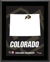 "Colorado Buffaloes Sublimated 10.5"" x 13"" State Plaque"