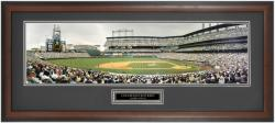 Colorado Rockies Coors Field Framed Unsigned Panoramic Photograph with Suede Matte -