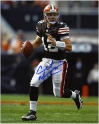 "Colt McCoy Cleveland Browns Autographed 8"" x 10"" Running Photograph"