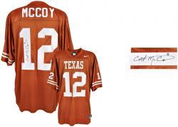 Colt McCoy Texas Longhorns Nike Autographed Jersey
