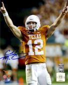 """Colt McCoy Texas Longhorns Autographed 8"""" x 10"""" Photograph"""
