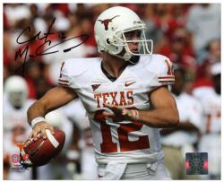 "Colt McCoy Texas Longhorns Autographed 8"" x 10"" Ball in Hand Photograph"