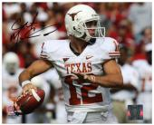 "Colt McCoy Texas Longhorns Autographed 8"" x 10"" Ball in Hand Photograph"