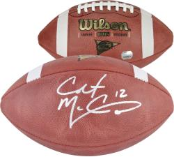 Colt McCoy Texas Longhorns Autographed NCAA Wilson Football