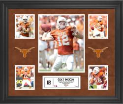 Colt McCoy Texas Longhorns Framed 5-Photo Collage