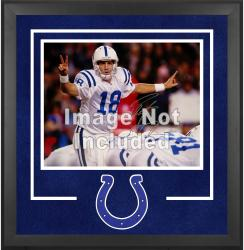 Indianapolis Colts Deluxe 16'' x 20'' Horizontal Photograph Frame with Team Logo - Mounted Memories