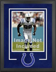 Indianapolis Colts Deluxe 16'' x 20'' Vertical Photograph Frame with Team Logo - Mounted Memories