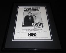 Comic Relief V 1992 HBO Framed 11x14 ORIGINAL Advertisement Robin Williams