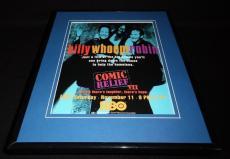 Comic Relief VII 1995 HBO Framed 11x14 ORIGINAL Advertisement Robin Williams