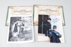 Batman- Adam West & Green Hornet- Van Williams Signed 8×10 Photos – JSA