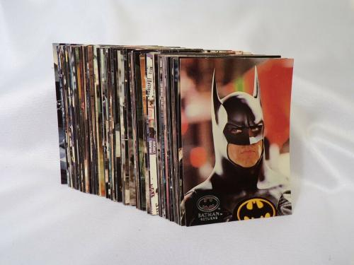 COMPLETE Vintage 1992 Topps Stadium Club Batman Returns Complete Set 1-100