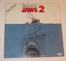 Composer JOHN WILLIAMS Signed JAWS 2 Movie ALBUM LP PSA DNA