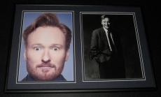 Conan O'Brien COCO Signed Framed 12x18 Photo Display TBS Late Night