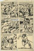 "Conan The Barbarian #102 Page 14 By Artist John Buscema 10""x15"