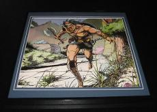 Conan the Barbarian Original Framed 1975 Marvel Poster 12x12
