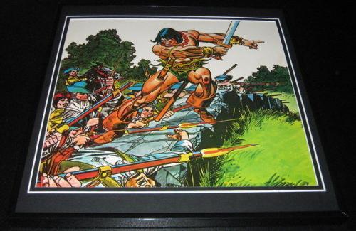 Conan the Barbarian Original Framed 1976 Marvel Poster 12x12