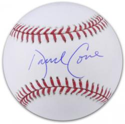 David Cone Autographed Baseball