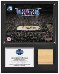 Connecticut 12x15 Plaque W/ Game Used (final 4) Floor
