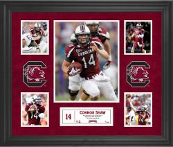 Connor Shaw South Carolina Gamecocks Framed 5-Photo Collage