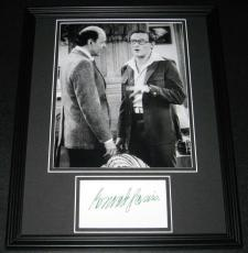 Conrad Janis Signed Framed 11x14 Photo Poster Display Mork and Mindy