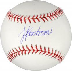 Jose Contreras Autographed Baseball