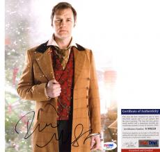 Cool David Morrissey Signed 8x10 Dr. Who Jackson Lake The Walking Dead PSA/DNA