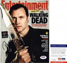 Cool David Morrissey Signed 8x10 The Walking Dead The Governor PSA/DNA
