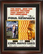Cool Hand Luke - Paul Newman George Kennedy Signed Movie Dis