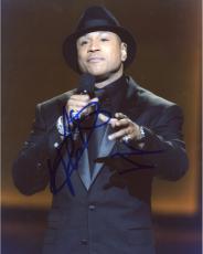 LL Cool J Autographed 8'' x 10'' Black Suit Photograph