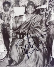 LL Cool J Autographed 8'' x 10'' Black and White Photograph