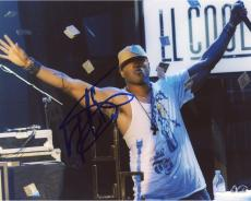 LL Cool J Autographed 8'' x 10'' New York Hat On Photograph