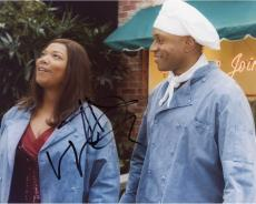 LL Cool J Autographed 8'' x 10'' With Queen Latifa Photograph