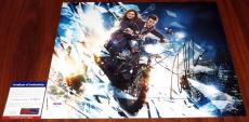 Matt Smith Autographed Photo - Cool & Jenna Coleman 11x14 Doctor Who Clara Eleventh PSA DNA