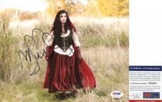 Cool Meghan Ory Signed 8x10 Once Upon a Time Ruby Intelligence PSA/DNA