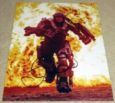 Cool Tom Cruise Signed 11x14 Edge of Tomorrow Bill Cage Exact Proof