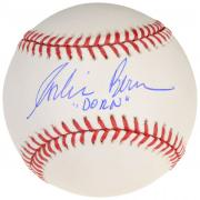 Corbin Bernsen Autographed Baseball with Dorn Inscription - Beckett COA