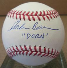 "Corbin Bernsen ""Dorn"" Signed Major League Baseball - Steiner"