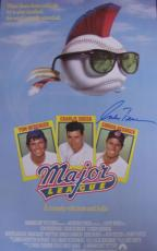 Corbin Bernsen Signed Major League Movie Poster