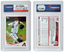 Patrick Corbin Arizona Diamondbacks Autographed 2013 Topps Card - Mounted Memories
