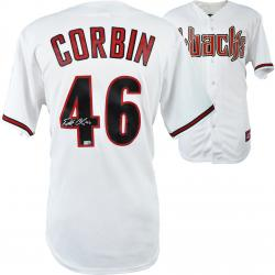 Patrick Corbin Arizona Diamondbacks Autographed Home Replica Jersey