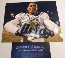 CORDELL BROADUS signed 8x10 Photo UCLA BRUINS Football Snoop Dogg Son