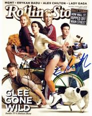 Cory Monteith and Lea Michele Signed - Autographed GLEE 11x14 inch Photo - Finn Hudson and Rachel Berry - Guaranteed to pass PSA or JSA
