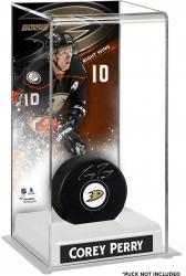 Corey Perry Anaheim Ducks Deluxe Tall Hockey Puck Case