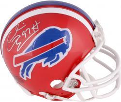 Cornelius Bennett Buffalo Bills Autographed Riddell Mini Helmet