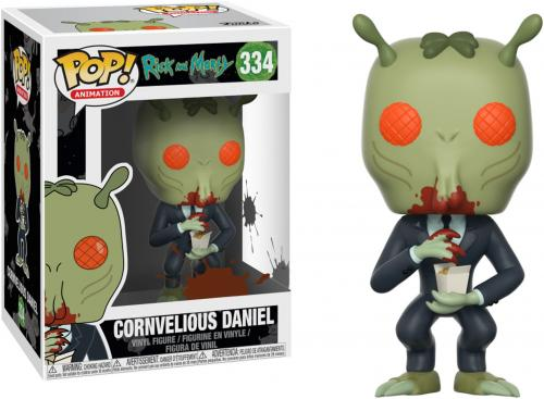 Cornvelious Daniel Rick and Morty #334 with Sauce Funko Pop!